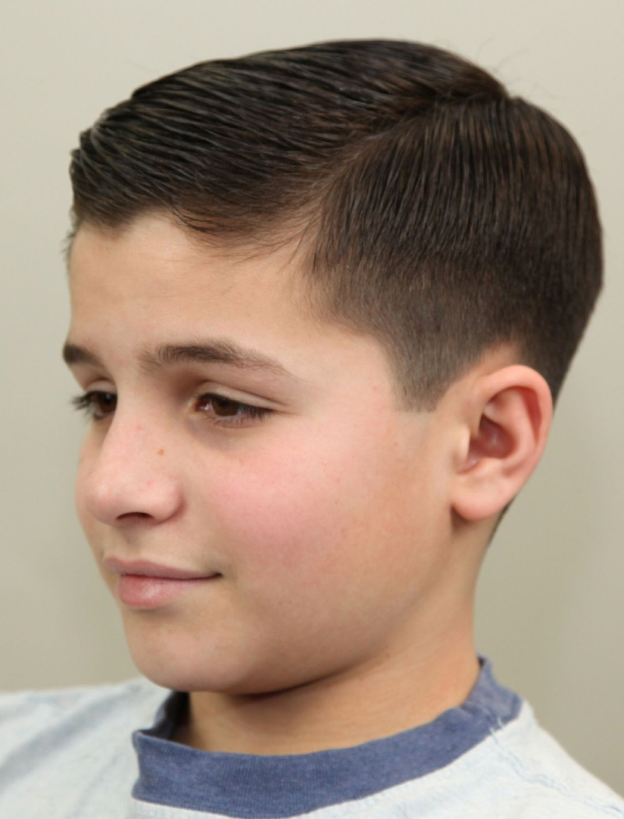 Hairstyles for young boys 2014