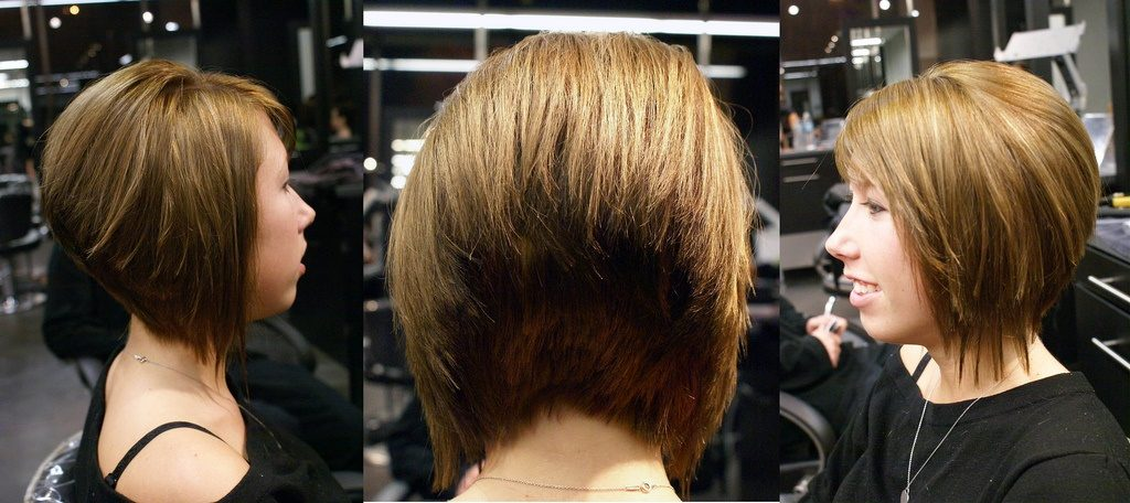 Pictures of the back of bob haircuts